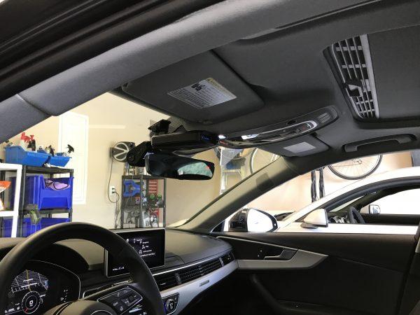 Audi Dash Cam & Radar Detector