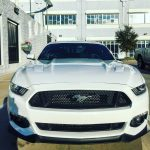 Pulled up to the office in my new 2016 Mustang.