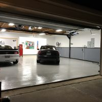 Garage is all cleaned up and fans are installed. AC coming next?