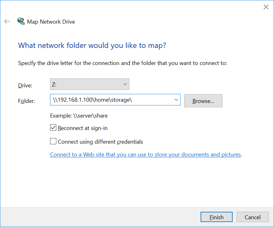 NFS on CentOS 7 & Windows 10 NFS Client Configuration
