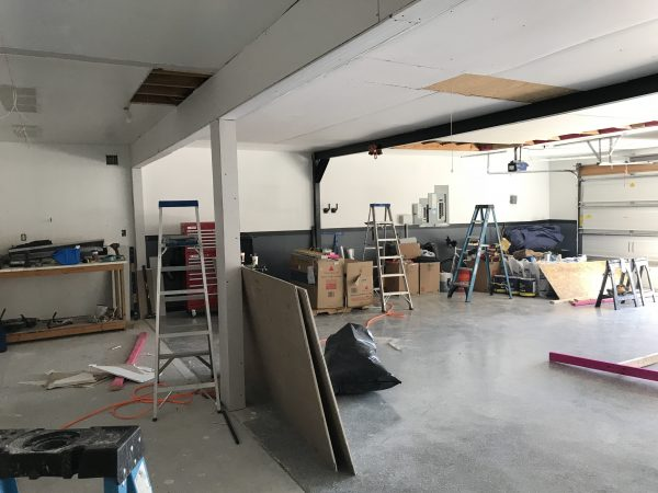 Project: Dream Garage - Things are coming along.