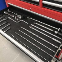 Milwaukee 48-22-8546 46 in. 18-Drawer Tool Chest and Cabinet Combo