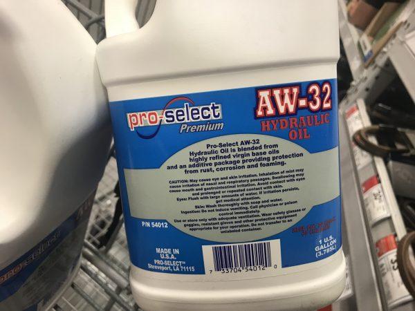 AW-32 Hydraulic Fluid