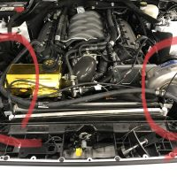 Removing 2015-2017 Mustang GT AC Condenser